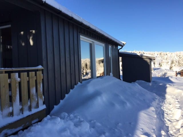 Sjusjøens fineste punkt - Lunkefjell - Sjusjøen - 통나무집