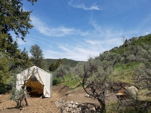 """""""Junipers Rest""""  Tent Cabin - Lava Hot Springs - Tält"""