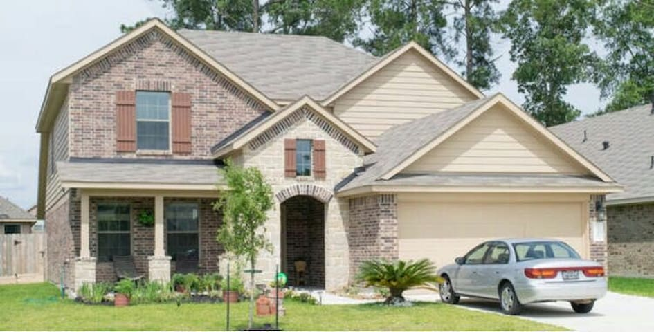 Best Reviewed! - Peaceful ROOMS near IAH airport. - Porter - Casa