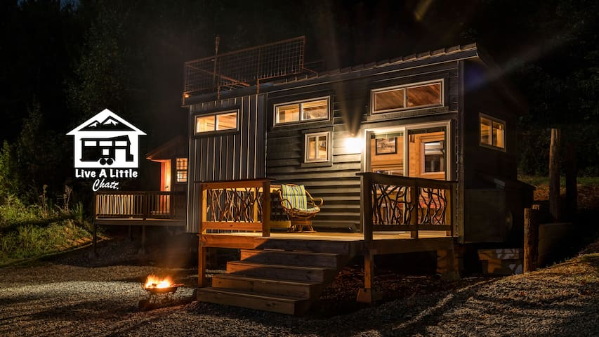 Shangri-Little Tiny House (Live A Little Chatt) - Rising Fawn - Talo