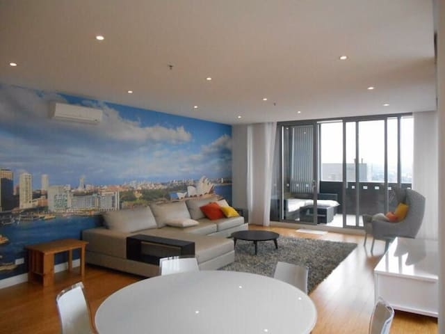 A Penthouse Room With A View - Parramatta - Apartemen