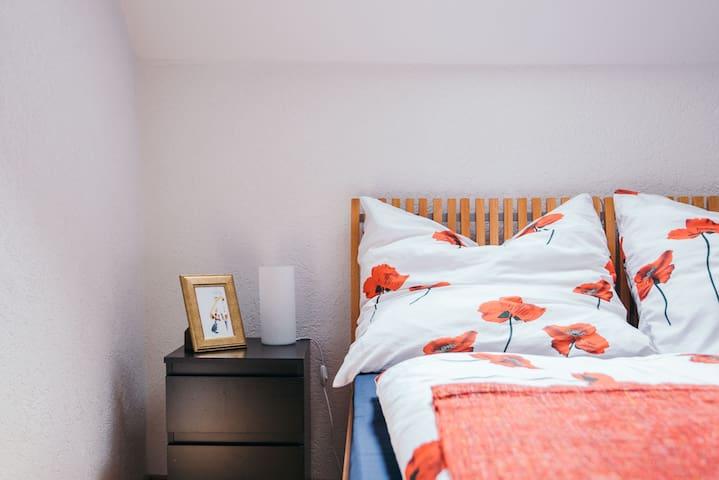 Spacious apartment in good location + free parking - Königsbrunn - Leilighet