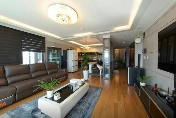 Full-equipped flat with fine view - 파주시 - Lejlighed