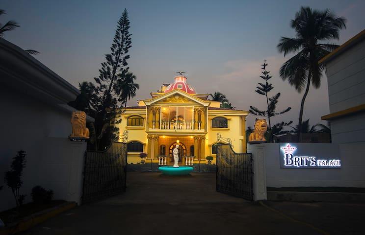 Brit's Palace, Goa, India.