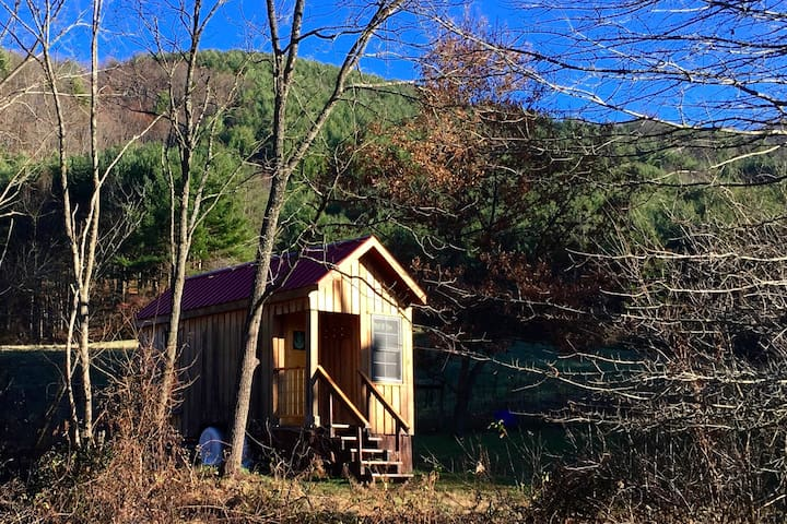 Cozy Tiny Home on 350 acre Farm - Marshall - Overig