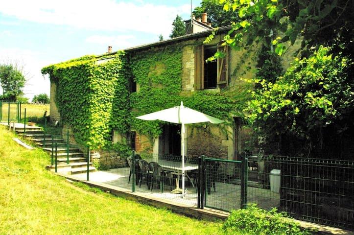 Moulin  dans un parc d'élevage à Daims - Jancigny - Appartement