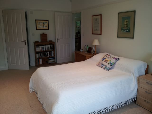 Large double room with private en-suite. - Ashtead - Bed & Breakfast