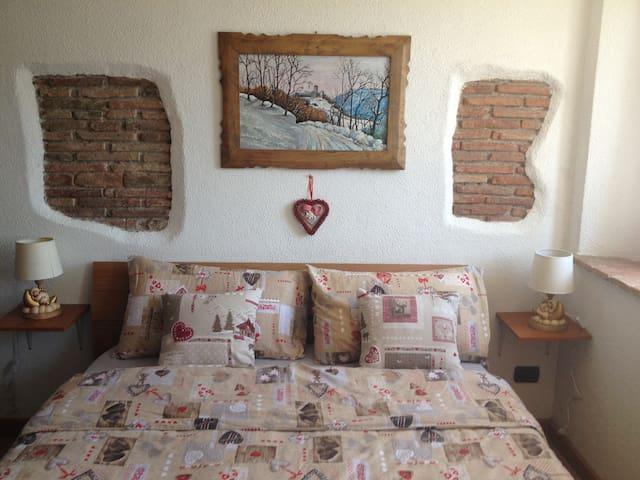 Studio overlooking the Dolomites - san gregorio nelle alpi - Apartamento