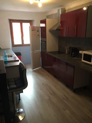 Appartement Montagne - La Condamine-Châtelard - Apartament