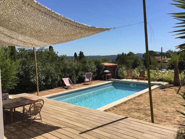 Nice and peaceful House with private pool & garden - Saint-Jean-de-Fos
