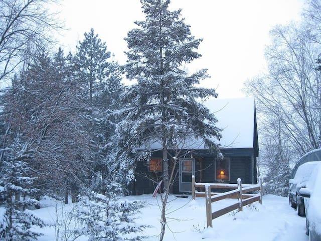 Log cabin on a lake - Richmond - Kulübe