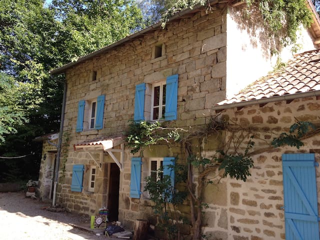 Delightful French farmhouse - Saint-Julien-le-Petit - 獨棟