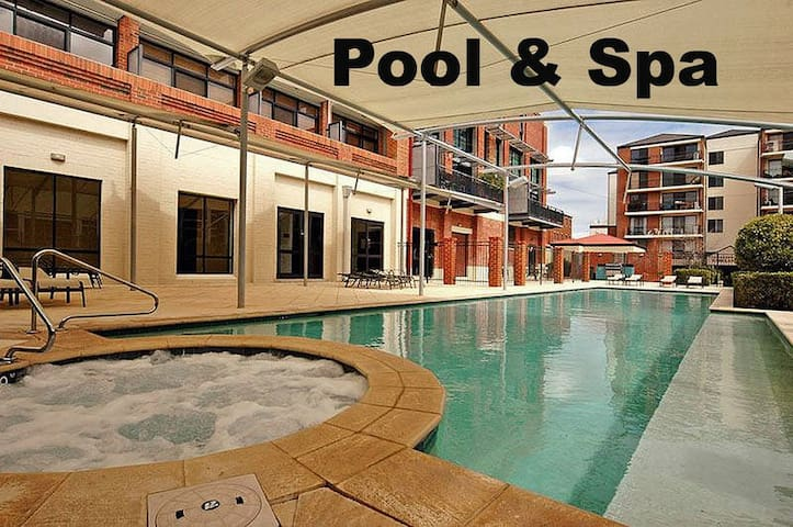 Private double bedroom in the heart of the city - Perth - Apartamento