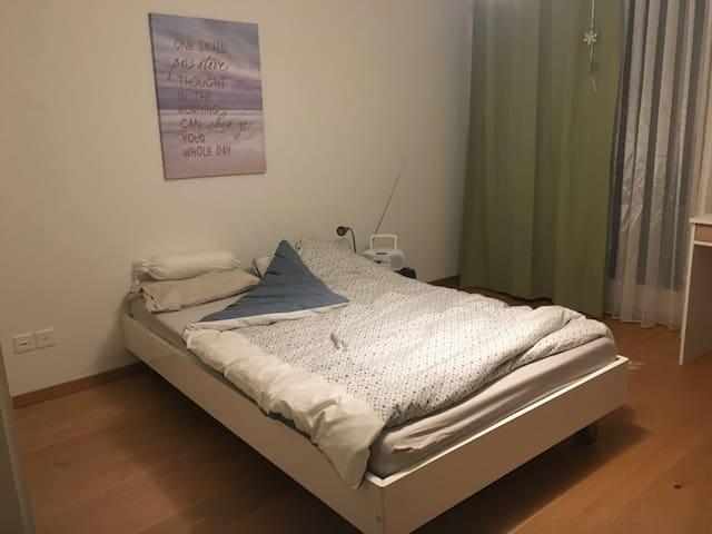 Zimmer mit eigenem Bad in der Natur - Hausen am Albis - Aamiaismajoitus