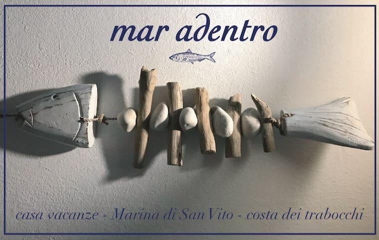 La tua vacanza in riva al mare - Marina di San Vito - Daire