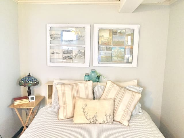 Cozy basement bedroom & living room - Lynchburg - Casa