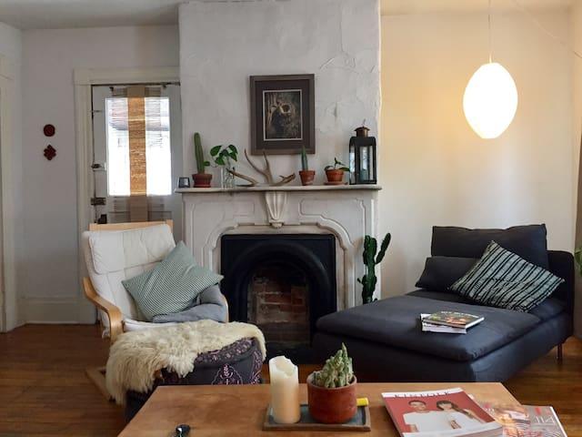 Cozy bright downtown apartment - Burlington - Departamento