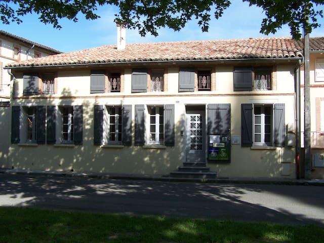 Appartement au cœur du village - Grisolles - Appartement