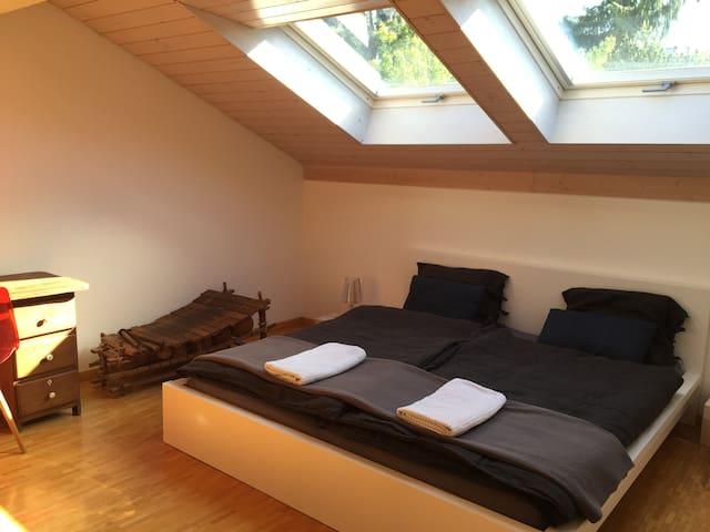 Beautiful room in a cozy house in Bulle - Bulle - Ev