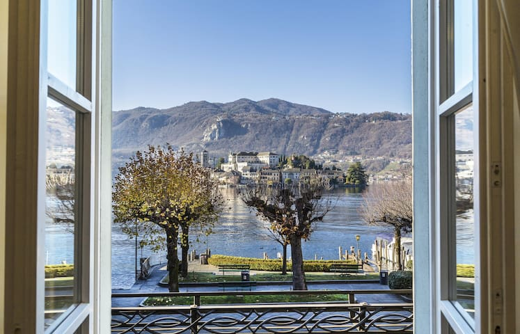 L'ISOLA house with island view - Orta San Giulio - Appartement