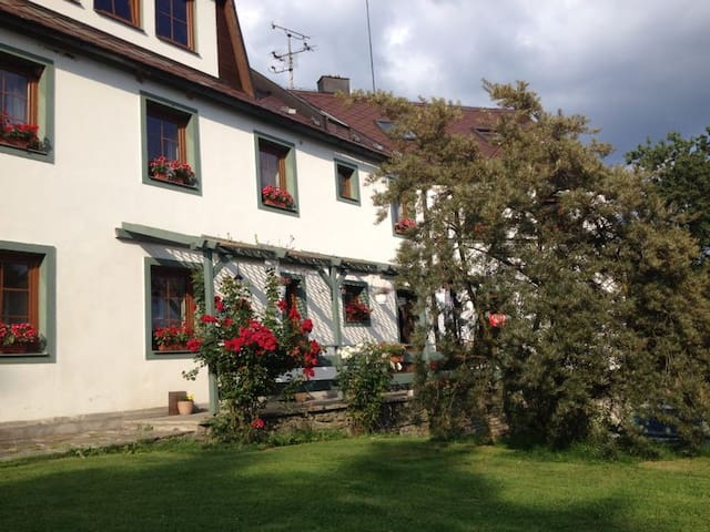 the most beautiful morning view 1 - Toužim - Bed & Breakfast