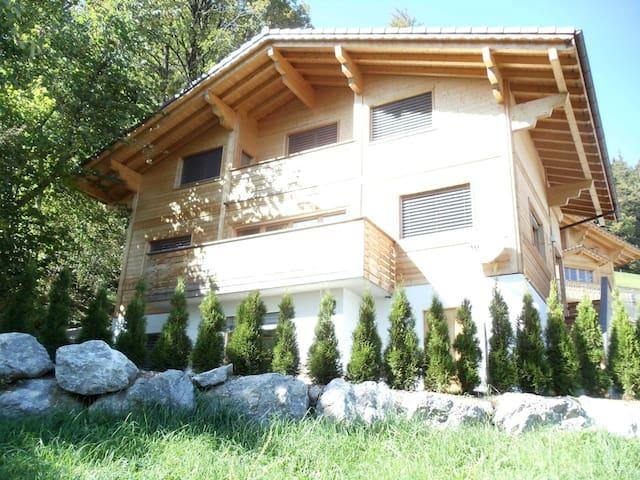 Beautiful Large Sunny Chalet in Alps near Gstaad - Zweisimmen - Casa