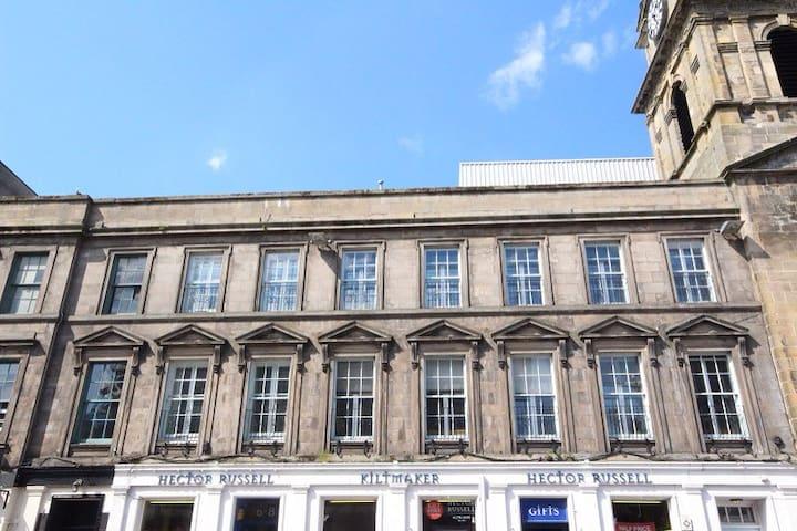 Bright spacious city centre flat - Inverness - Apartament