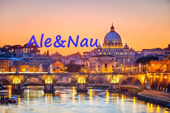 ROMA Ale&Nau - Rome - House