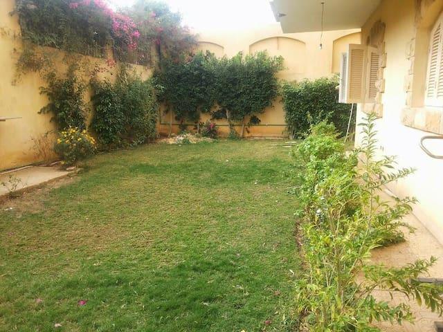 Spacious apartment with garden - 6th of October City - Villa
