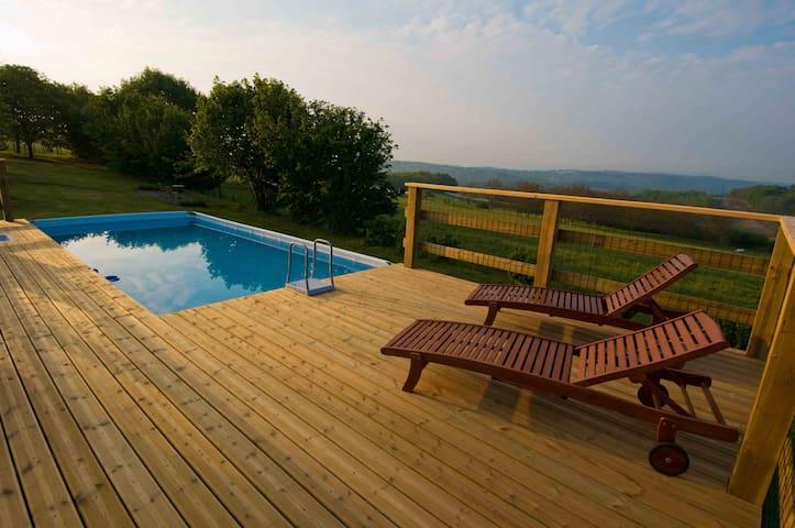 Cottage le Campagnol - Beyssac - 小木屋