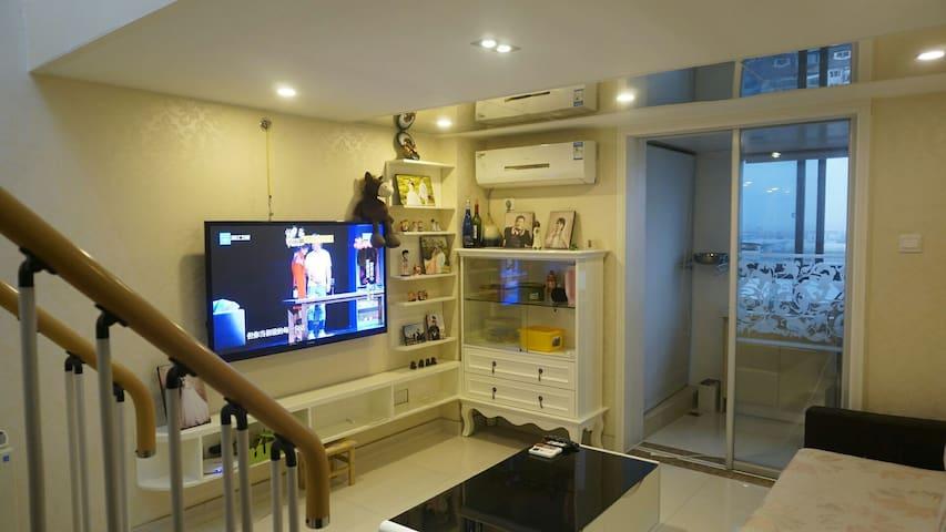 地铁复式精装两室LOFT公寓,整套出租~超温馨哦 - Ningbo - Wohnung