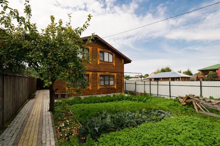 Дом с баней на Кремлёвском берегу - Суздаль - Rumah