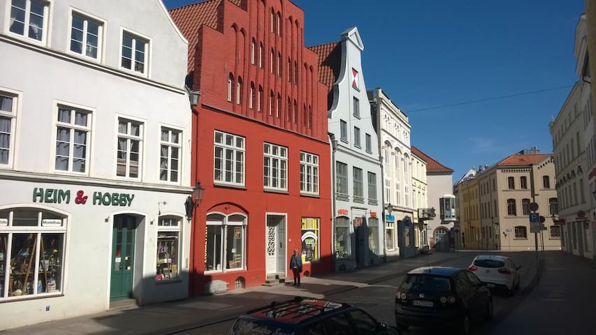 In the heart of the historic old town of Wismar - Wismar