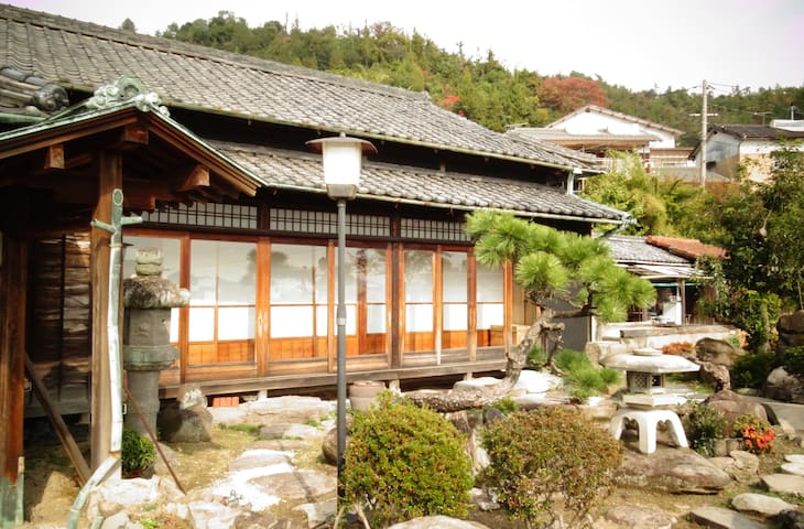 Japanese style Guest house Toranjyo lit 2 :) - Tamano city - Huis