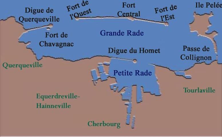 Chez Gégé - Équeurdreville-Hainneville - Leilighet