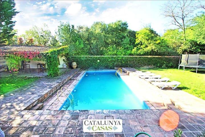 Traditional Vilanova villa in the Catalonian countryside, only 30 minutes from Barcelona! - Barcelona Region - Villa