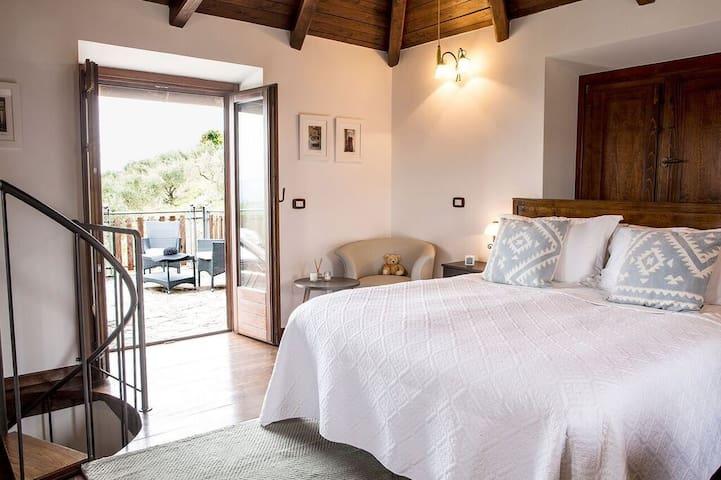 Bella Vista suite - Casale S Pietro - Anagni - Bed & Breakfast