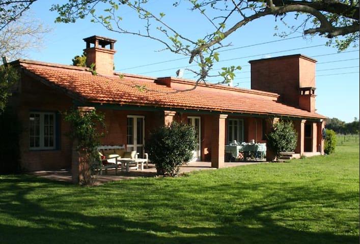 Casa de campo, a 1 hora de Buenos Aires -Open Door - Open Door - Casa