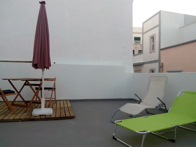 DOWNTOWN LOFT WITH A LARGE ROOF TERRACE - Olhão