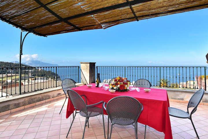 La Ciucciara Capri Apartment with Terrace - Масса Любренсе - Отпускное жилье