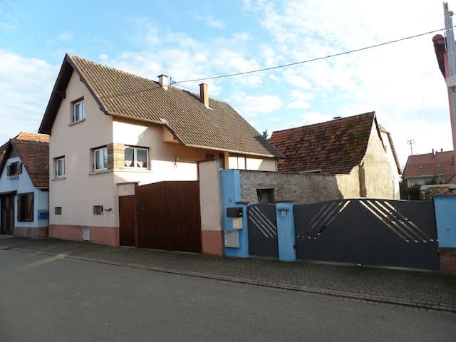 Location de vacances d'une maison - Marlenheim