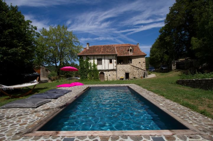 Rougié Haut - Great vacation house - Frayssinhes