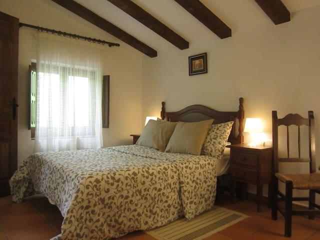 Finca Vegana guest room no3 with en suite bathroom - Bocaleones - Bed & Breakfast