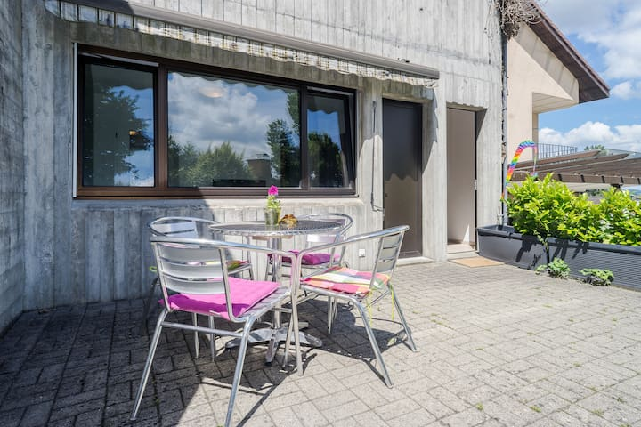 Sunny Garden Apartment - Neuhausen am Rheinfall - Daire