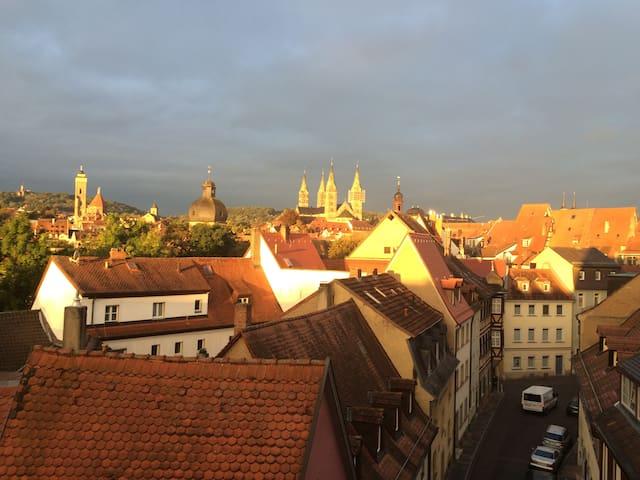 gemütlich, exklusiv, ruhig und zentral - Bamberg - Leilighet