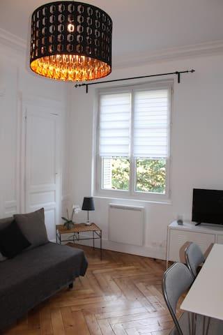 Bel appartement Rouen centre - Rouen - Leilighet