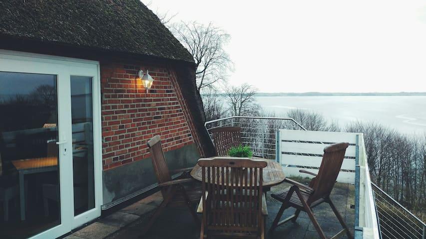 Wohnen unter Reet mit Ostseeblick - Langballig - Apartment