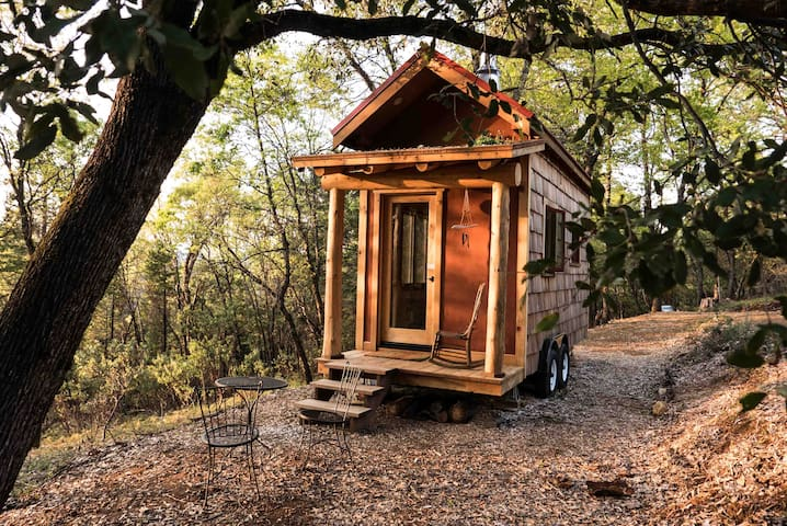 Secluded Custom Tiny Home in Enchanted Forest - Nevada City - Pension