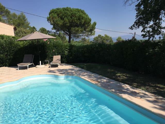 Villa 6-8 pers. piscine sécurisée - Saint-Paul-en-Forêt - Villa