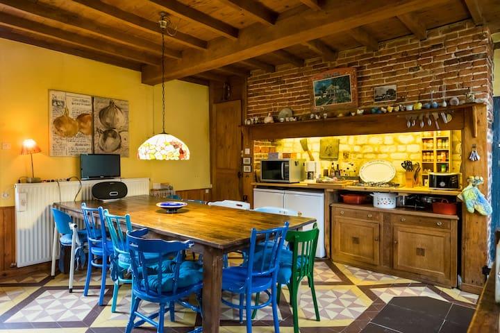Maison Bohémienne [12 pers.] - Montcavrel - Villa